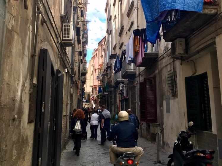 Naples alleyway